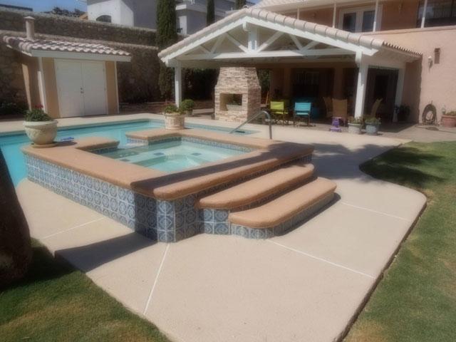 Pool decks pool remodeling serving el paso for Pool design el paso tx